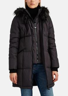 Barneys New York Women's Faux-Fur-Trimmed Tech-Fabric Parka