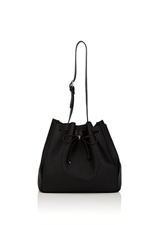 Barneys New York Women's Faux-Leather Bucket Bag - Black
