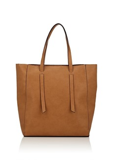 Barneys New York Women's Faux-Leather Tote Bag - Neutral