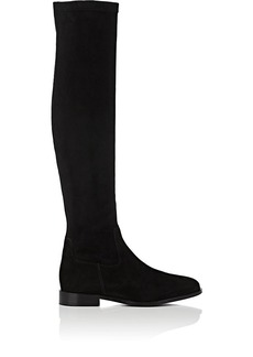 Barneys New York Women's Faux-Suede Knee Boots