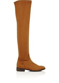 Barneys New York Women's Faux-Suede Over-The-Knee Boots