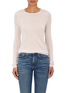 Barneys New York Women's Fine-Gauge Knit Silk-Cashmere Sweater