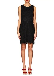 Barneys New York Women's Floral Cotton-Blend Lace Dress