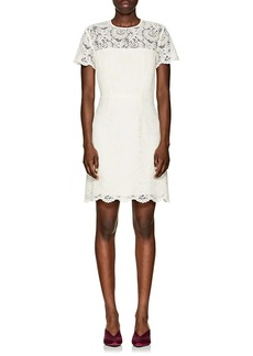 Barneys New York Women's Floral Lace Dress