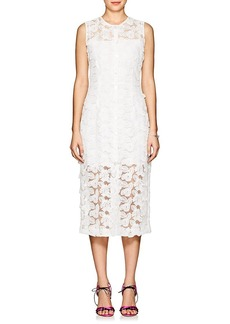 Barneys New York Women's Floral-Lace Dress
