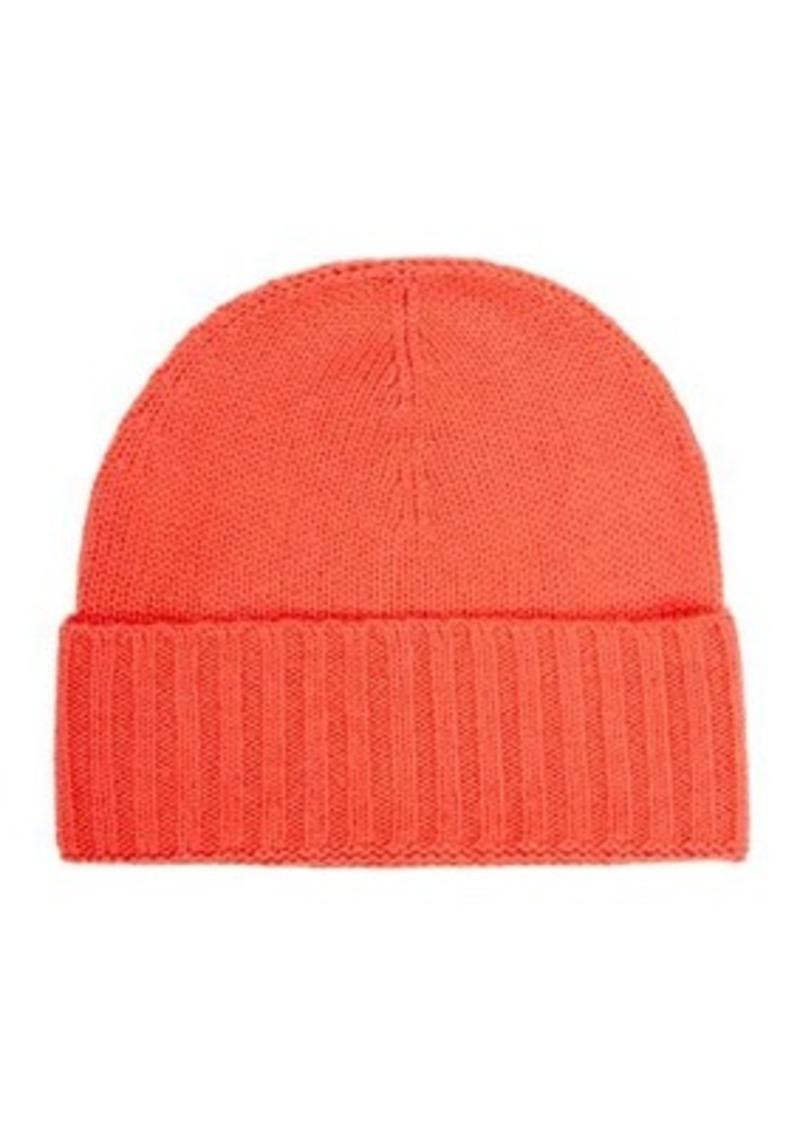 76379cca79b Barneys New York Barneys New York Women s Folded-Cuff Cashmere Hat ...