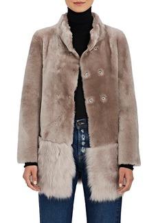 Barneys New York Women's Fur Coat
