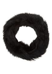 Barneys New York Women's Fur Cowl Scarf - Black
