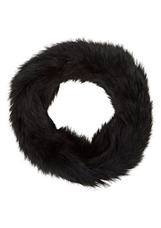 Barneys New York Women's Fur Cowl Scarf - Black