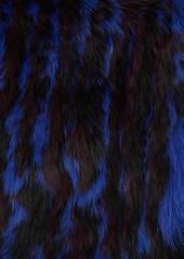 Barneys New York Women's Fur Cowl Scarf - Purple