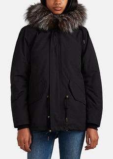 Barneys New York Women's Fur-Lined 2-In-1 Coat