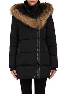 Barneys New York Women's Fur-Trimmed Quilted Parka