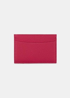 Barneys New York Women's Grained Leather Business Card Case - Pink