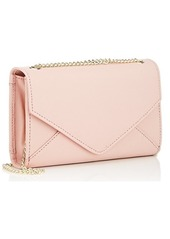 Barneys New York Women's Hannah Leather Chain Wallet - Pink