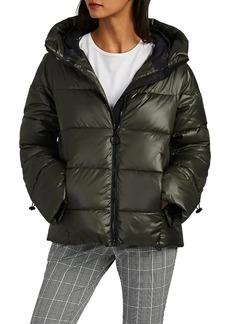 Barneys New York Women's Hooded Puffer Jacket