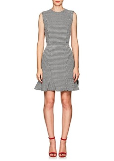 Barneys New York Women's Houndstooth Sheath Dress