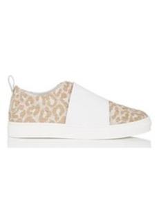 Barneys New York Women's Jacquard & Leather Slip-On Sneakers