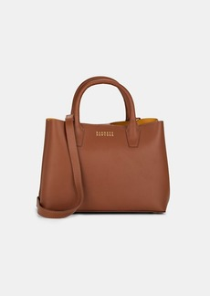 Barneys New York Women's Jane Leather Bucket Bag - Neutral