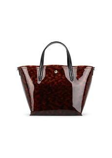 Barneys New York Women's Jelly Tote Bag - Brown