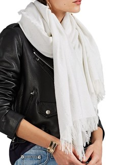 Barneys New York Women's Join Cashmere Scarf - White