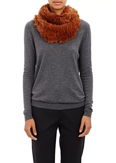 Barneys New York Women's Knitted-Fur Cowl Scarf