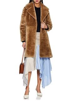 Barneys New York Women's Lamb Fur Coat