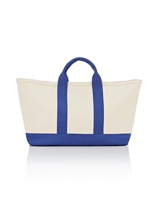 Barneys New York Women's Large Canvas Tote Bag - Neutral