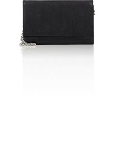 Barneys New York Women's Large Chain Wallet - Black