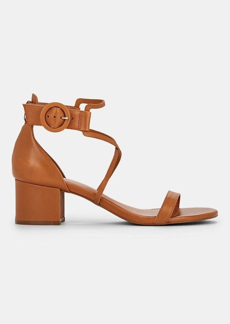 Barneys New York Women's Leather Ankle-Strap Sandals