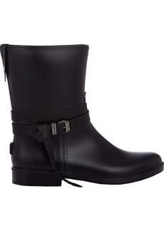Barneys New York Women's Leather-Belt Rain Boots