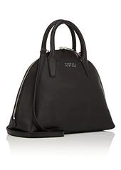 Barneys New York Women's Leather Bowler Bag - Black