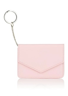 Barneys New York Women's Leather Card Case - Pink