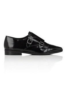 Barneys New York Women's Leather Double-Monk-Strap Shoes