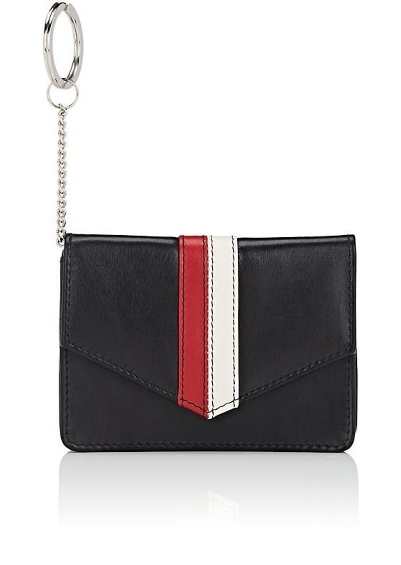 Barneys New York Women's Leather Envelope Card Case - Black