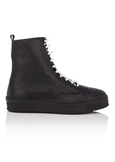 Barneys New York Women's Leather High-Top Sneakers