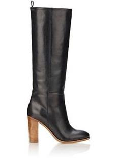 Barneys New York Women's Leather Knee Boots