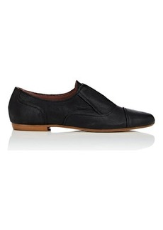 Barneys New York Women's Leather Laceless Oxfords