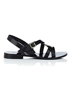 Barneys New York Women's Leather Multi-Strap Sandals