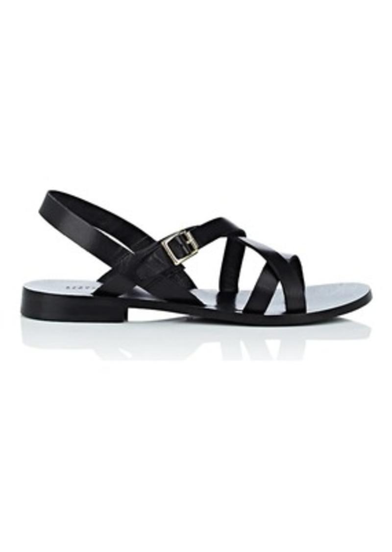 Barneys New York Women's Leather Multi-Strap Sandals