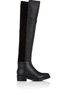 Barneys New York Women's Leather Over-The-Knee Boots