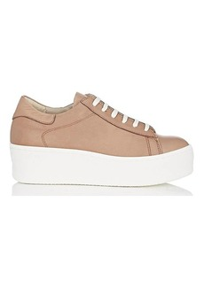 Barneys New York Women's Leather Platform Sneakers