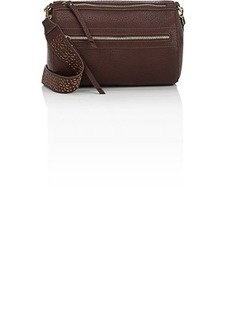 Barneys New York Women's Leather Round Duffel Bag - Brown