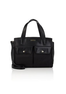 Barneys New York Women's Leather Satchel - Black