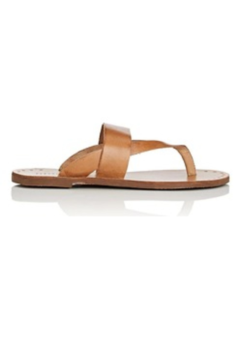 Barneys New York Women's Leather Slide Sandals