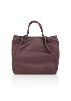 Barneys New York Women's Leather Tote Bag - Wine