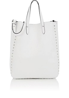 Barneys New York Women's Leather Tote Bag - White