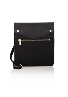Barneys New York Women's Leather-Trimmed Crossbody Bag - Black