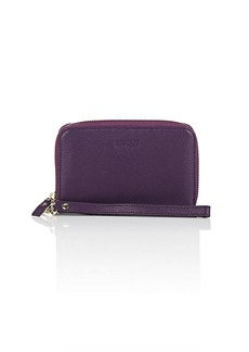 Barneys New York Women's Leather Wristlet Wallet