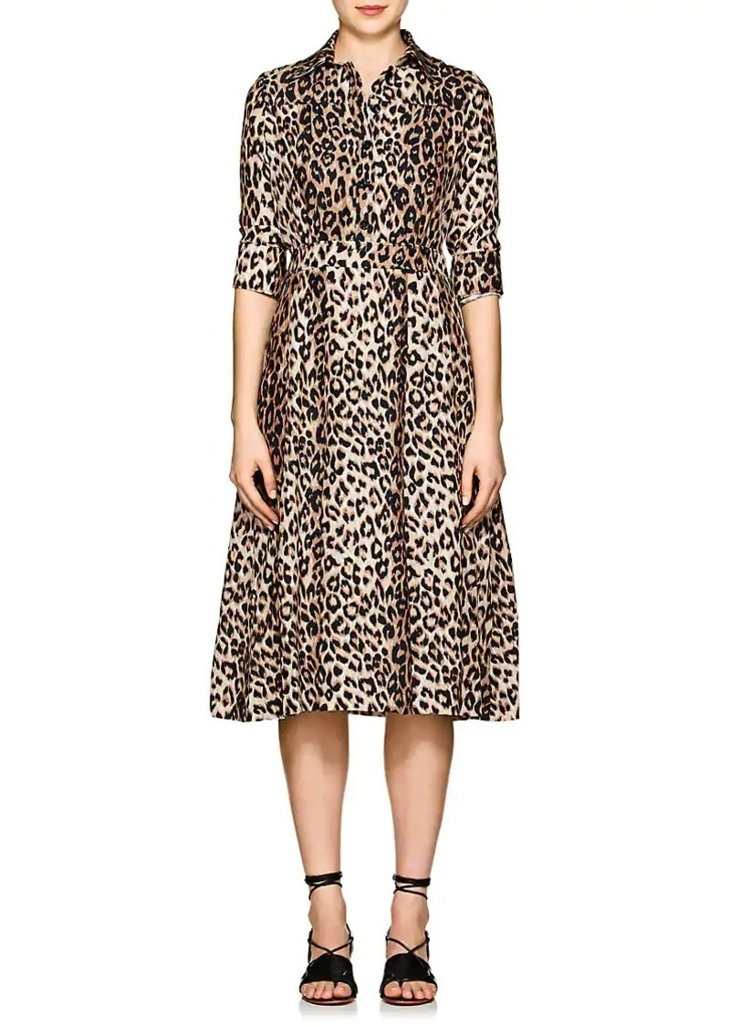 clear-cut texture release info on deft design Barneys New York Barneys New York Women's Leopard-Print Silk ...