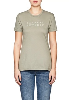 Barneys New York Women's Logo Pima Cotton T-Shirt
